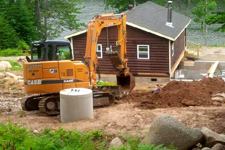 Excavation, Backhoe & Bulldozing